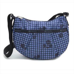 [LeSportsac]ショルダーバッグ PLEAT SMALL CROSSBODY ブルー系