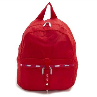 [LeSportsac]リュック TRAVEL PKABLE BACKPACK レッド