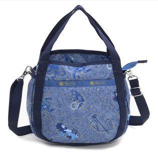 [LeSportsac]ハンドバッグ SMALL JENNI ブルー系