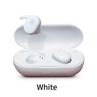 【ホワイト】 ワイヤレスイヤホン boost 自動ペアリング bluetooth 5.0