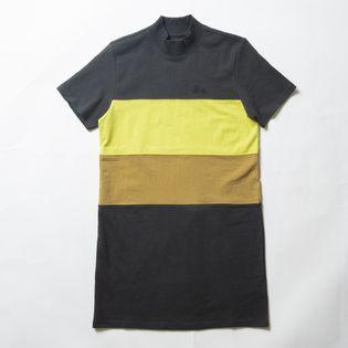XSサイズ[STUSSY]ワンピース SS PANEL DRESS CHARCOAL