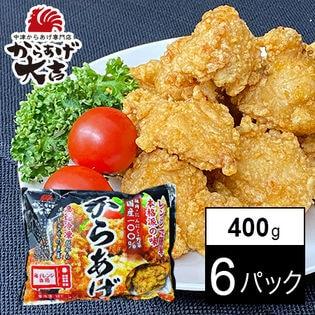 37位 【400g×6パック】【レンジでチン!】中津からあげ ミックス(モモ肉・ムネ肉)