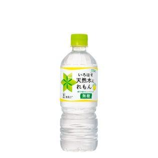 【24本】い・ろ・は・す 天然水にれもん PET 555ml