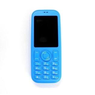 mini R phone2 スマホ子機 Bluetooth接続 ブルー