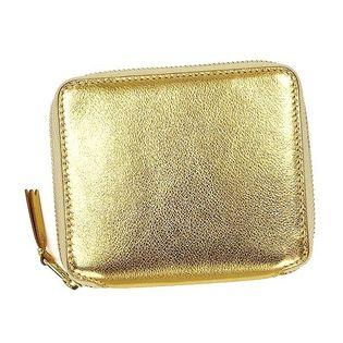 【コムデギャルソン】コインケース SA2100G 色:ゴールド-GOLD