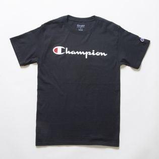 Sサイズ [Champion] M CLASSIC GRAPHIC TEE ブラック