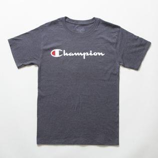 Sサイズ [Champion] M CLASSIC GRAPHIC TEE 杢ダークグレー