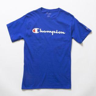 XLサイズ [Champion] M CLASSIC GRAPHIC TEE ブルー