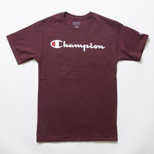 Lサイズ [Champion] M CLASSIC GRAPHIC TEE ボルドー