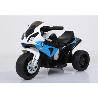 【ブルー】こども用電動乗用 BMW S1000RR