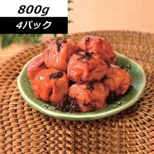 【3.2kg】<減塩約3%>健康志向の紀州南高梅つぶれ梅 かつお味
