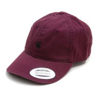 [CARHARTT]キャップ MADISON LOGO CAP SHIRAZ/BLACK