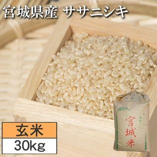 【30kg】令和2年度 宮城県産ササニシキ 玄米
