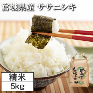【5kg】令和2年度 宮城県産ササニシキ 精米