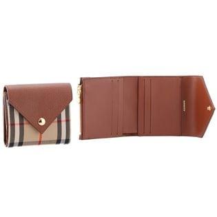 【BURBERRY】コンパクト財布/LS LILA EV【ブラウン】
