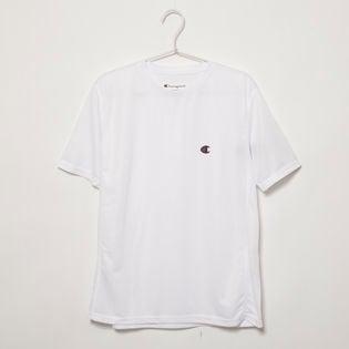 Lサイズ[Champion] 半袖TシャツM MESH S/S TEE ホワイト