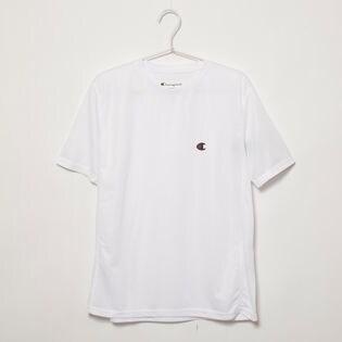 XXLサイズ[Champion] 半袖TシャツM MESH S/S TEE ホワイト