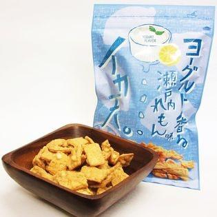 イカ天 ヨーグルト香る 瀬戸内れもん 味 (75g×2袋)×3セット 駄菓子