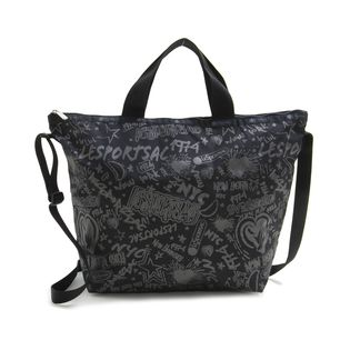 [LeSportsac]トートバッグ DELUXE EASY CARRY TOTE ブラック系