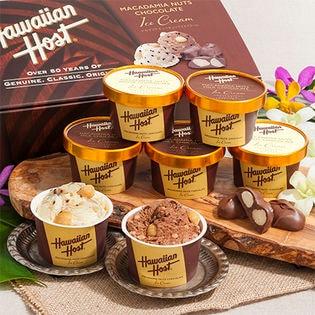 【計7個】Hawaiian Host(ハワイアンホースト)マカデミアナッツチョコアイス(AH-HH)
