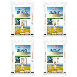 【計20kg(5kg×4袋)】≪特Aランク≫令和2年産 無洗米 北海道産ななつぼし