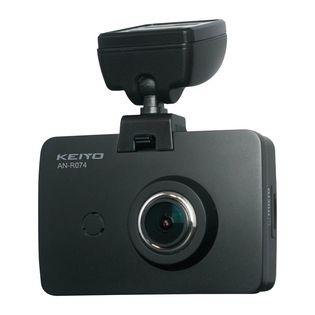 KEIYO ドライブレコーダー リアカメラ付 フルHD 3.0インチ