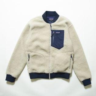 Sサイズ[patagonia]ボアジャケット M'S RETRO-X BOMBER JKT ベージュ