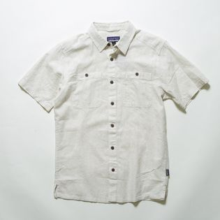 Lサイズ[patagonia]シャツ M'S BACK STEP SHIRT ナチュラル