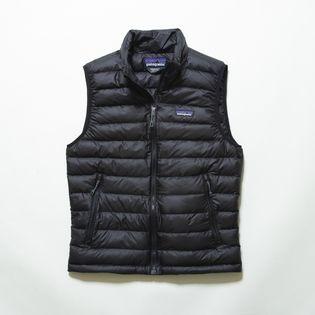 XLサイズ[patagonia]ダウンベスト M'S DOWN SWEATER VEST ブラック