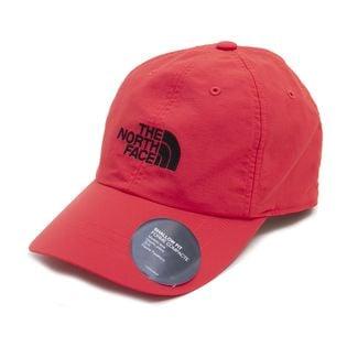 L-XLサイズ[THE NORTH FACE]キャップ HORIZON HAT レッド