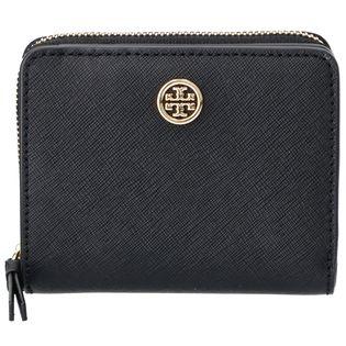 【TORY BURCH】二つ折り財布/ROBINSON【ブラック】