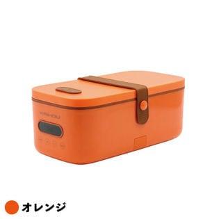 お弁当箱サイズマイコン式早炊き炊飯器 オレンジ