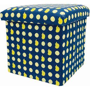 【レモン】SCANDINAVIAN FOREST 座ってしまえて畳める便利ボックス
