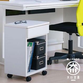 【ホワイト】職人が作るルーター収納キャビネット