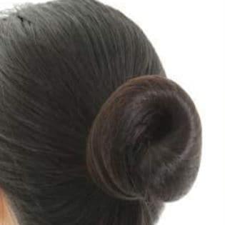 【2個セット】髪束ねネットセット《アシアナネット》ブラック60枚×2