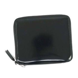 コムデギャルソン 折り財布 SA2100 MI MILLOR 色:BLACK/SILVER