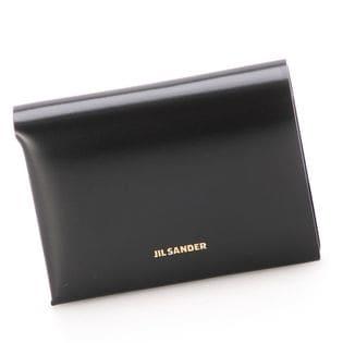 ジルサンダー 二つ折り財布 JSPS840162 00080 001 色:BLACK