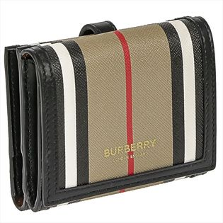 バーバリー 二つ折り財布 8029619 色:ARCHIVE BEIGE-ベージュ