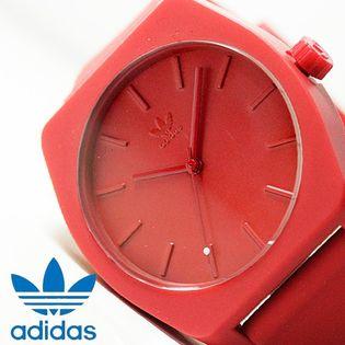 【レッド】アディダス 腕時計  ADIDAS  プロセス-SP1
