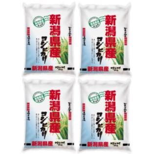 【計8kg(2kg×4袋)】令和2年産 新潟県産コシヒカリ