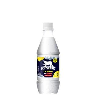 【24本】アイシー・スパーク フロム カナダドライ レモン PET 430ml