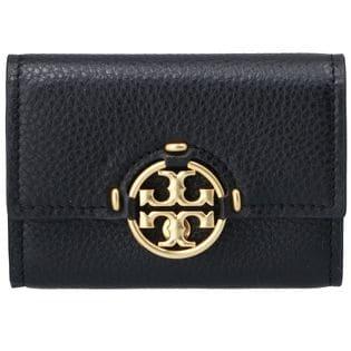 【TORY BURCH】コンパクト財布/MILLER【ブラック】