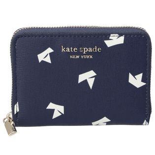 【KATE SPADE】コンパクト財布/SPENCER【ネイビー】