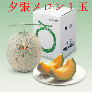 【予約受付】 7/1~順次発送 【1.3kg】北海道産 夕張メロン 良品