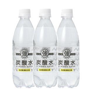 【6月限定】【48本】友桝飲料 強炭酸水500mlプレーン48本