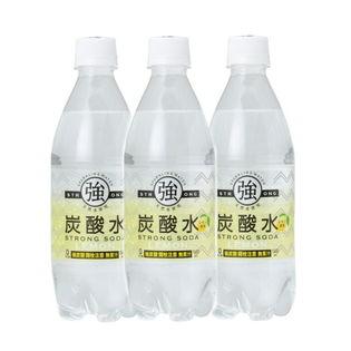 【6月限定】【48本】友桝飲料 強炭酸水500mレモン