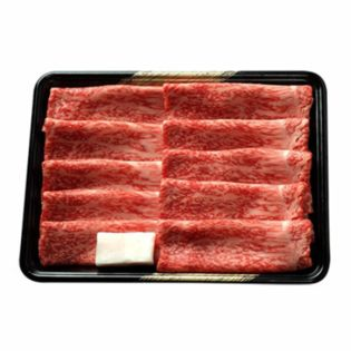 【500g】前沢牛薄切り 直営の小形牧場で一頭一頭に担当者を配し、こだわった牛肉!