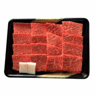 【500g】前沢牛焼肉用 直営の小形牧場で一頭一頭に担当者を配し、こだわった牛肉!