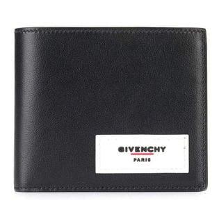 ジバンシー 二つ折り財布 BK6005 K0VA 004 BLACK/WHITE-ブラック