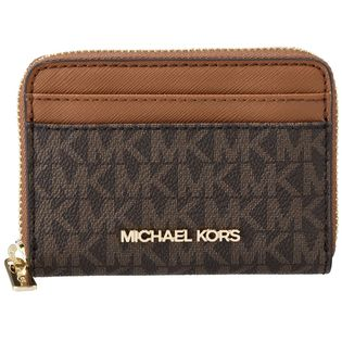 【MICHAEL KORS(OUTLET)】カードケース/【BRN/LUGGAGE】